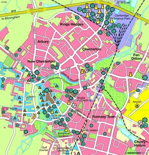Diercke Karte Cambridge 2010