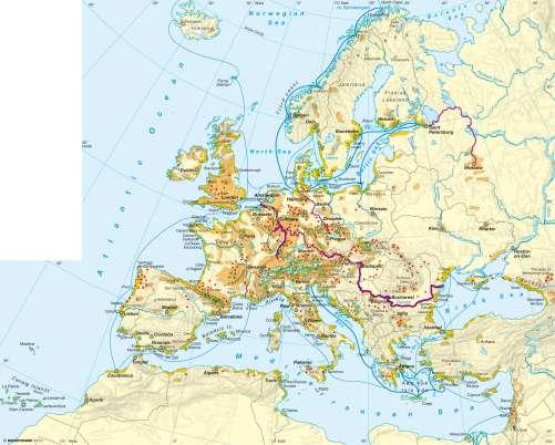 Diercke Karte Tourism