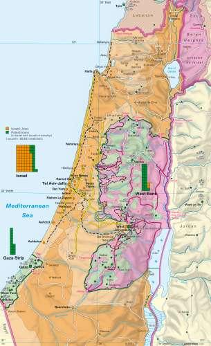 Diercke Karte Settlement and boundaries