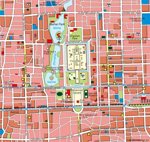 Maps Beijing Peking Capital Of China Diercke International