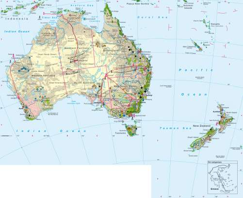 Diercke Karte Economy