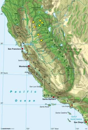 Diercke Karte California – Land use circa 1830
