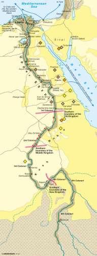 Diercke Karte Egypt – An ancient civilization
