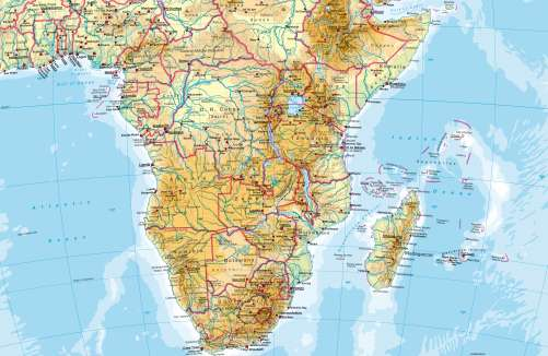 Africa Map Geography.Geographic Map Of South Africa Images Photos With Geographic Map Of