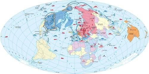 Diercke Karte The Cold War Era (1949 – 1989)
