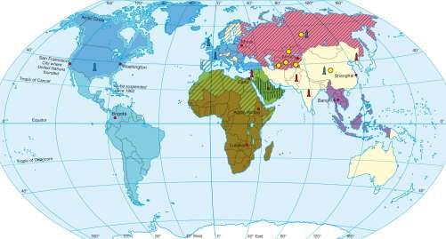 Maps Political And Military Alliances Diercke - Us military allies map