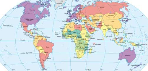 Diercke Karte Living conditions