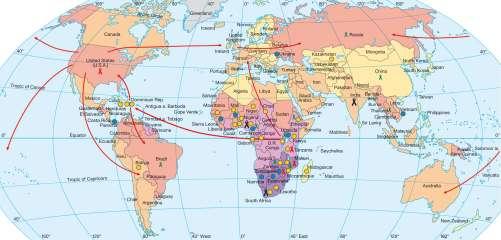 Diercke Karte HIV/Aids