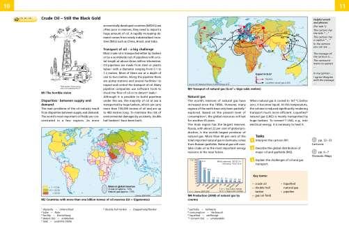 Diercke Karte Crude Oil - Still the Black Gold