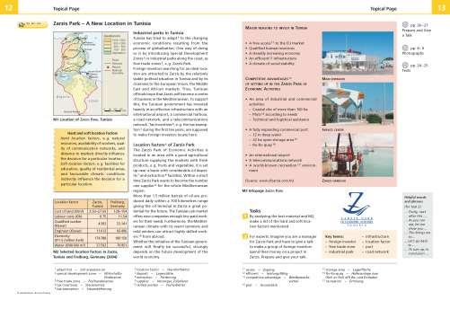 Diercke Karte Zarzis Park - A New Location in Tunisia
