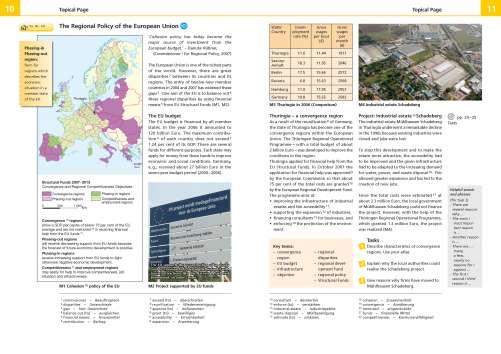 Diercke Karte The Regional Policy of the European Union