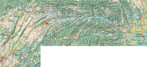 Diercke Karte Yangtze River – Three Gorges Project