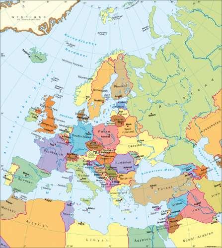 Karte Von Europa.Diercke Weltatlas Kartenansicht Europa Politische