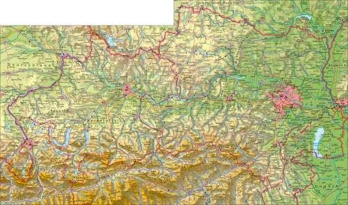 Karte Wien Niederosterreich.Diercke Weltatlas Kartenansicht Oberosterreich