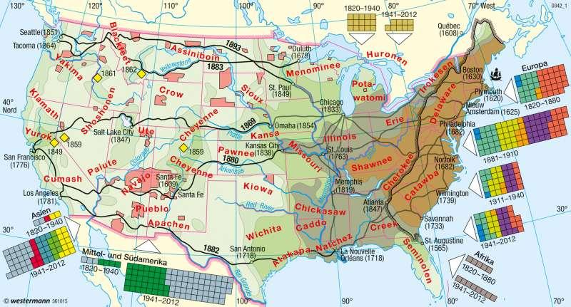 Indianerstamm In Nordamerika