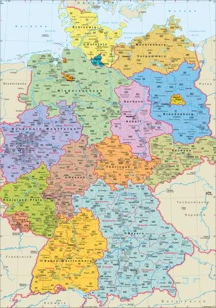 KaГџel Bundesland Karte