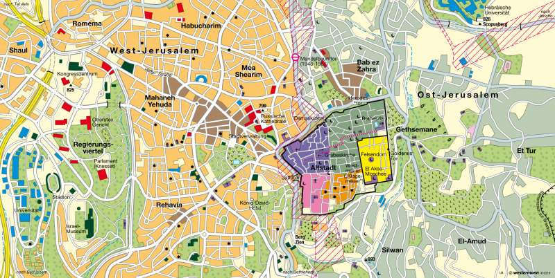 al map with Jerusalem Heilige Stadt F C3 Bcr Drei Weltreligionen 978 3 14 100770 1 163 5 0 on Penisola iberica together with Genova nervi furthermore 4744417773 additionally 3563186573 as well Pistenplan.