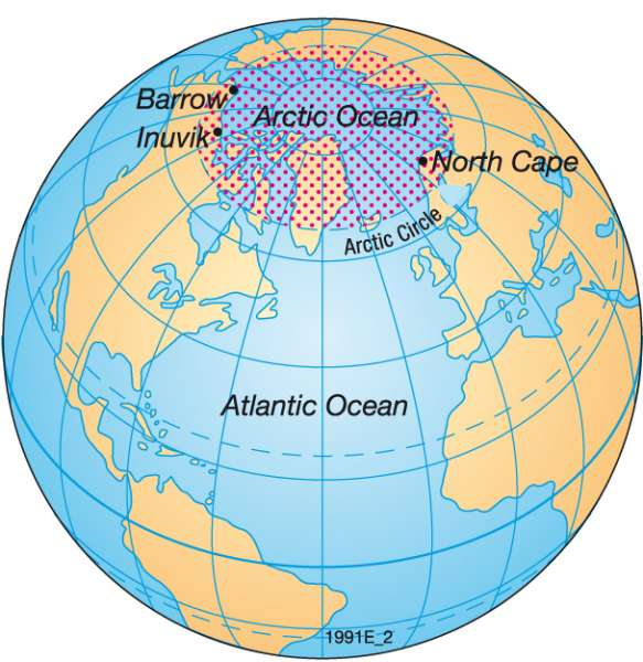 North Pole World Map Www Pixshark Com Images Galleries