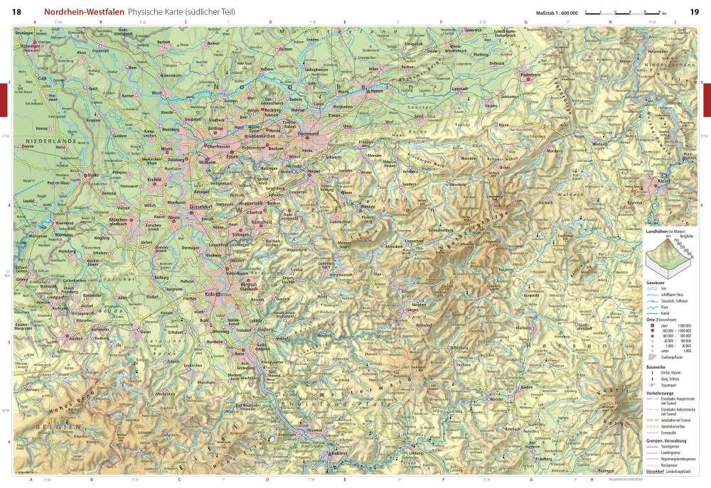 topographische karte nrw