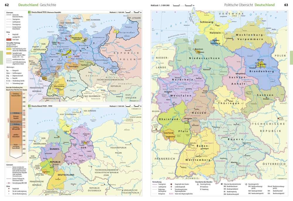 Geschichte Politische Ubersicht Deutschland Seydlitz