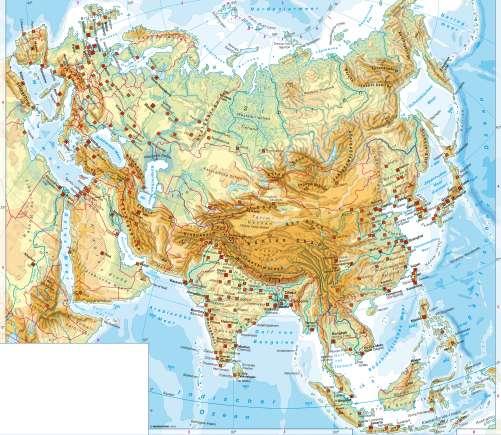 Landkarte asien grenze europa Grenze Europa