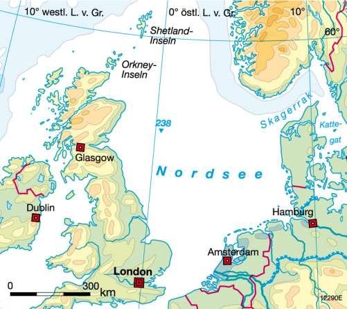 Diercke Weltatlas Kartenansicht Nordsee Erdol Und Erdgas