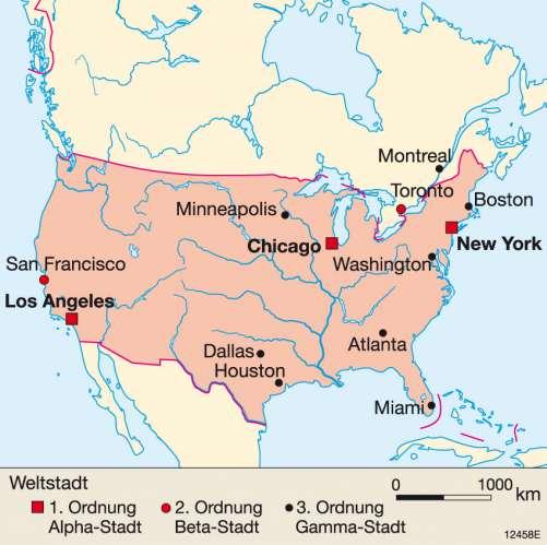 Kalifornien Karte Pdf.Diercke Weltatlas Kartenansicht Los Angeles Stadtlandschaft