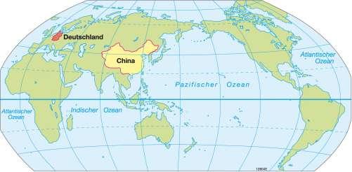 Diercke Weltatlas Kartenansicht Indischer Ozean Pazifischer