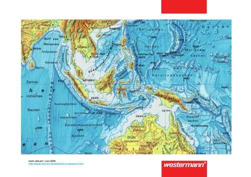Indonesien Karte Physisch.Diercke Weltatlas Kartenansicht Sudostasien Physische