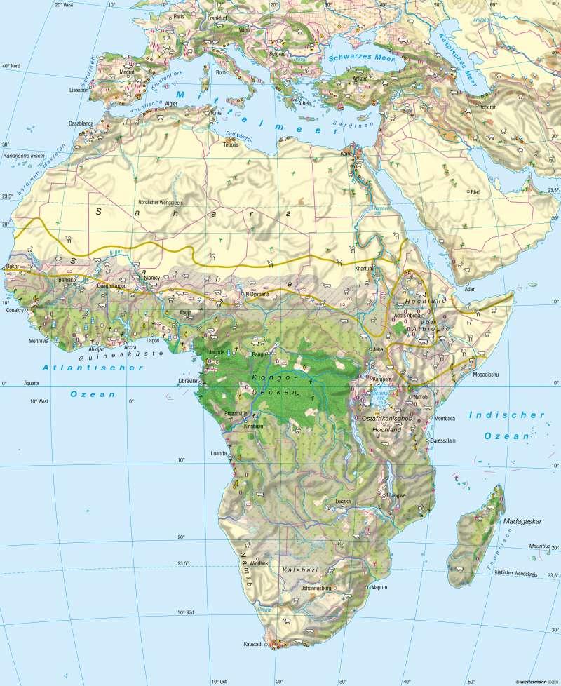 Afrika | Landwirtschaft | Afrika - Landwirtschaft | Karte 149/5