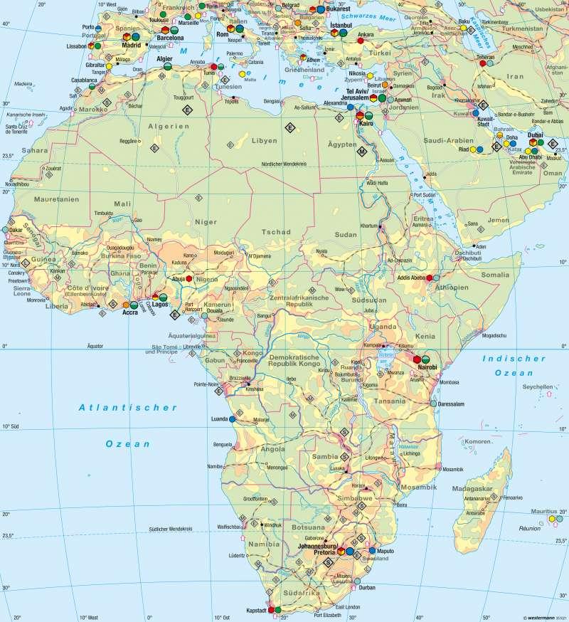 Afrika   Wirtschaft und Umwelt   Wirtschaft und Umwelt   Karte 101/4