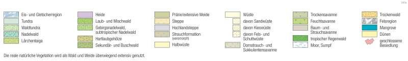 | Bodenbedeckung | Kartenlesen - Signaturen in der Wirtschaftskarte | Karte 14/1