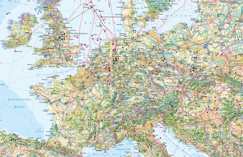 West- und Mitteleuropa | Wirtschaft | West- und Mitteleuropa - Wirtschaft | Karte 118/1