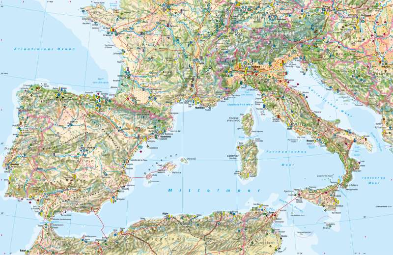 Südwesteuropa   Wirtschaft   Südwesteuropa - Wirtschaft   Karte 130/1
