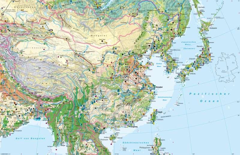 Ostasien   Wirtschaft   Wirtschaft   Karte 130/1