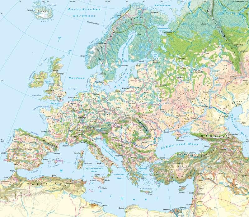 Europa | Landwirtschaft | Landwirtschaft | Karte 60/1