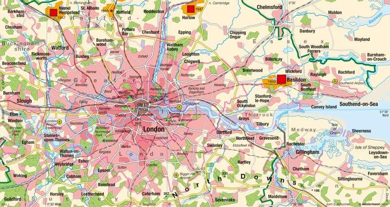 London | Übersicht | London und Paris - Global Cities | Karte 126/1