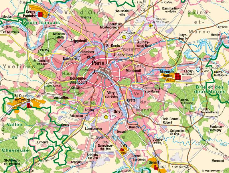 Paris | Übersicht |  | Karte 83/2