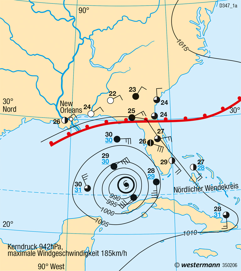 Diercke Weltatlas Kartenansicht Golf Von Mexiko