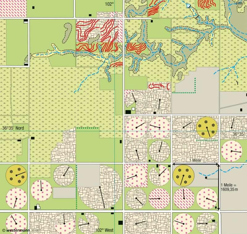Texhoma (Oklahoma) | Farmwirtschaft | Klima | Karte 146/4