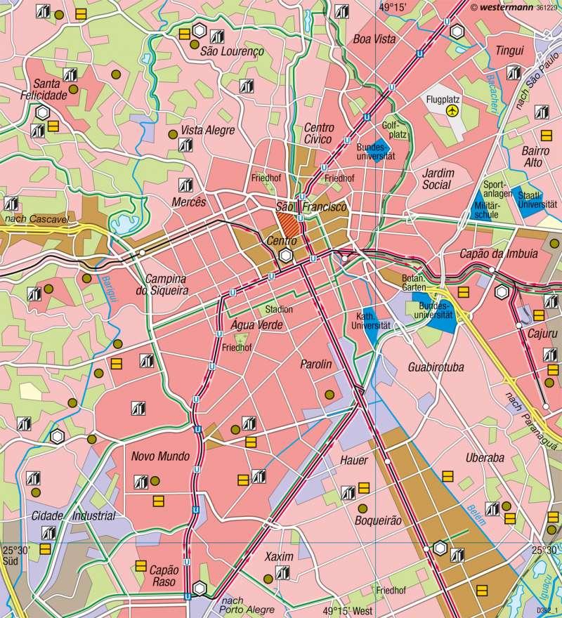 Curitiba | Nachhaltiges Verkehrskonzept | Brasilien - Entwicklung und Nachhaltigkeit | Karte 236/2