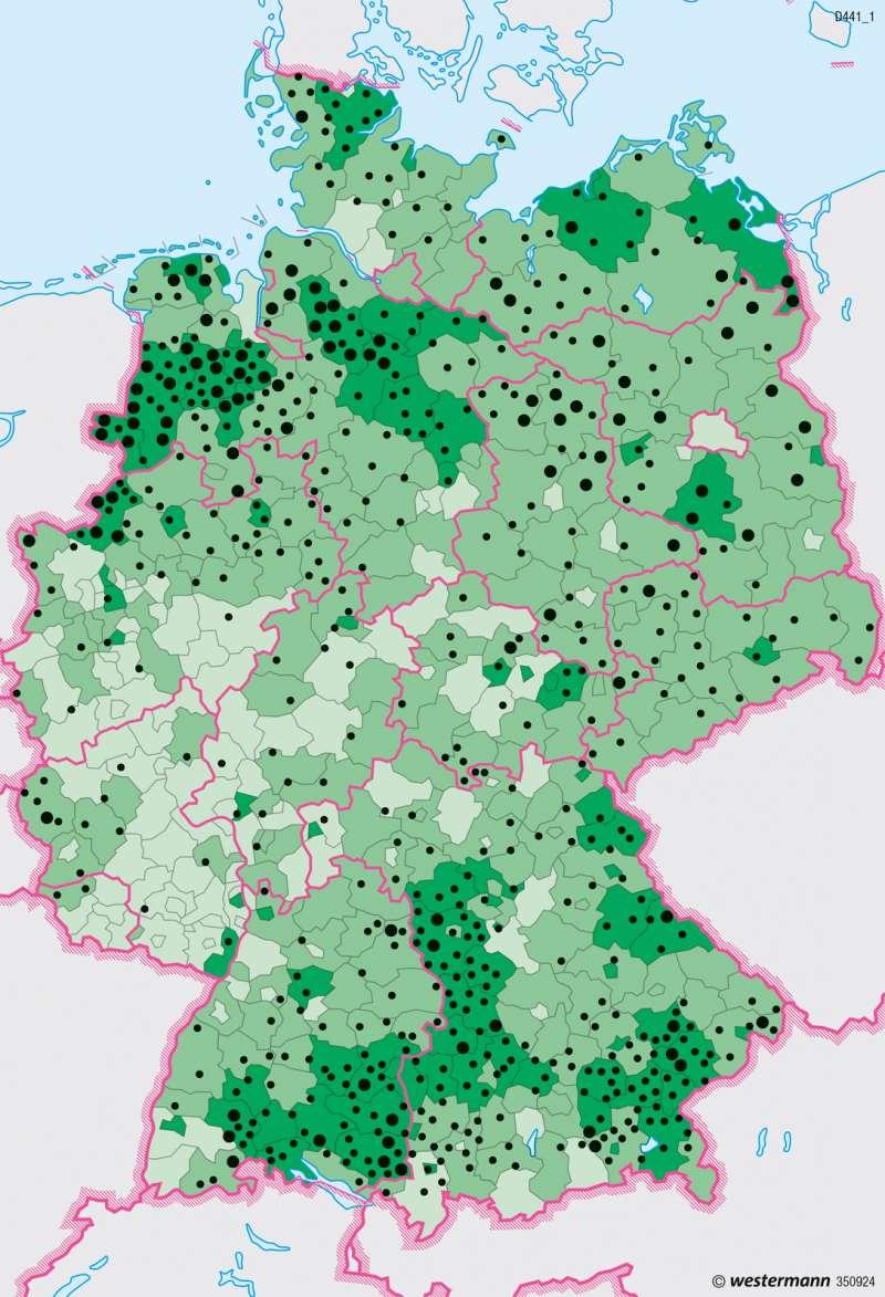 Deutschland | Biomasse | Energie | Karte 47/4