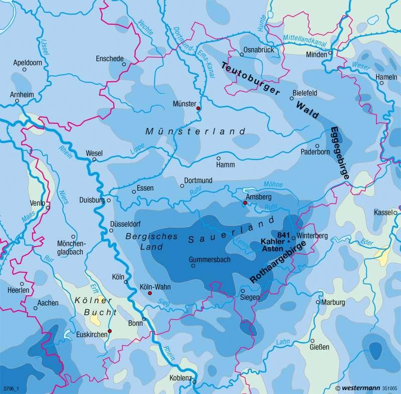 Nordrhein-Westfalen |  | Landwirtschaft, Klima und Umwelt | Karte 17/4