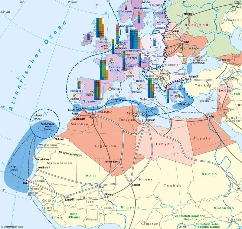 Europa | Migration | Europa - Migration | Karte 103/3