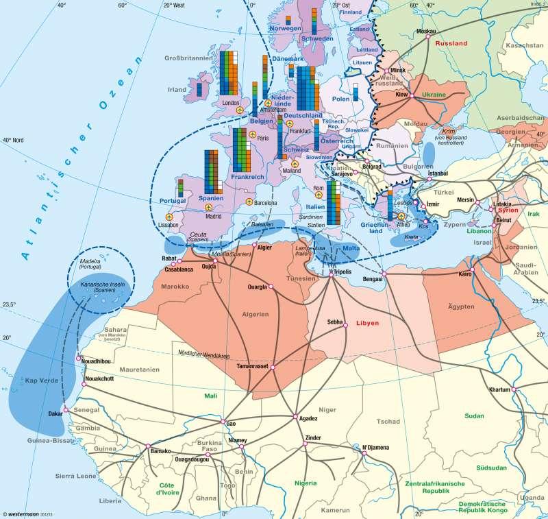 Europa   Migration   Bevölkerung und Migration   Karte 51/5