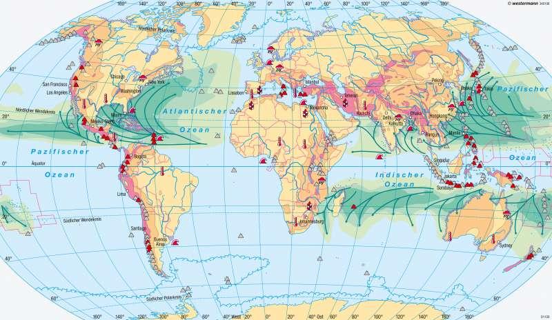 Erde   Naturgefahren und Naturrisiken   Naturgefahren   Karte 177/3