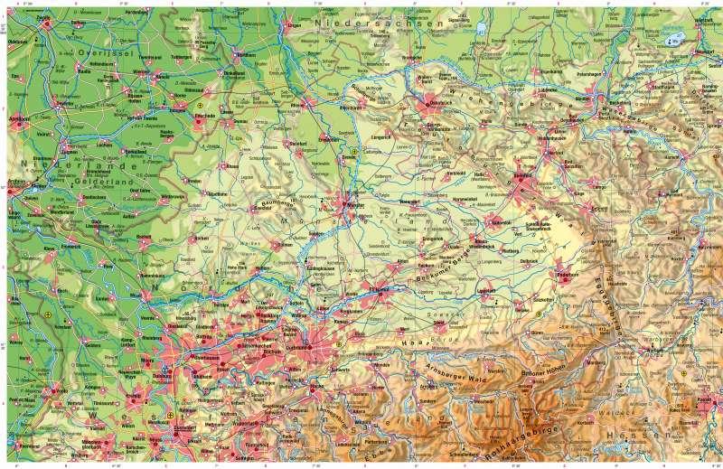 | Physische Karte | Physische Karte | Karte 12/1