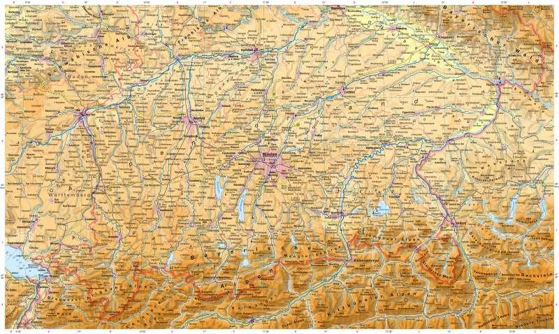 oberbayern karte Diercke Weltatlas   Kartenansicht   Schwaben, Oberbayern und