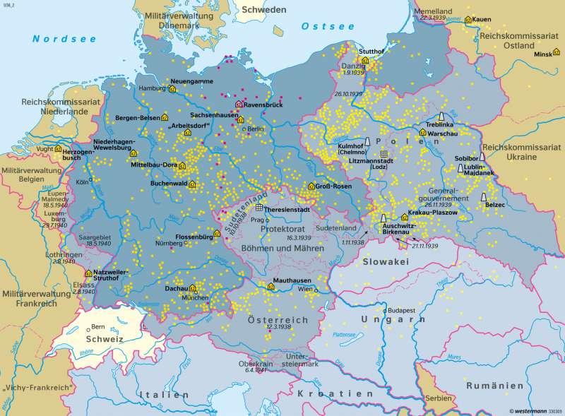 deutschland 2 weltkrieg karte Diercke Weltatlas   Kartenansicht   Deutschland
