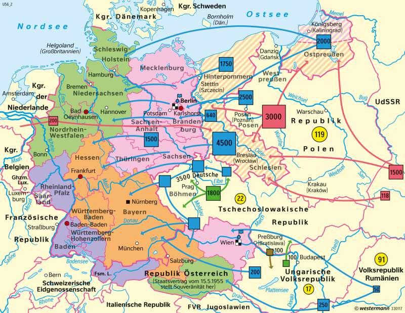 Diercke Weltatlas Kartenansicht Mitteleuropa
